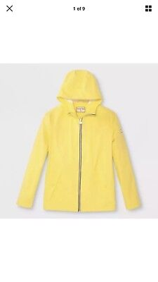 Hunter for Target Adult Unisex Packable Rain Coat-Yellow-Size Large