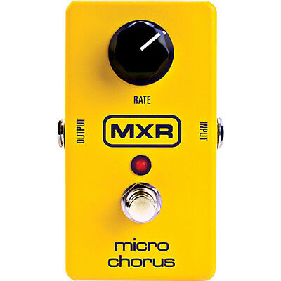 MXR M148 Micro Chorus True bypass with LED Guitar Effects Pedal - New