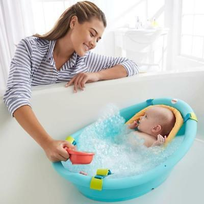 Fisher Price Adaptable Baby Bath Tub For Infants U0026 Toddlers Lightweight Non  Slip