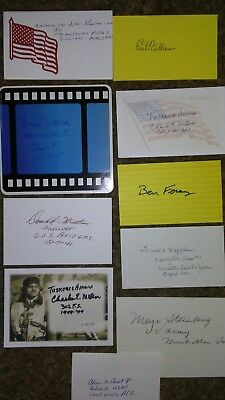 Historic WW II Related  Autographs