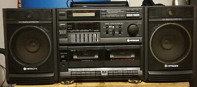 Hitachi MS-W600ER Ghettoblaster