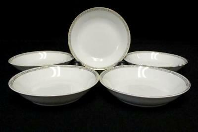 Set of 5 Fruit & Dessert Sauce Bowl Dallas Heinrich & Co Selb Bavaria 5-1/4""