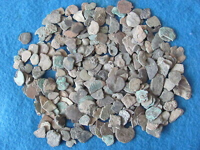 HUGE Lot Greek Bronze Coins bits and Pcs.  from Israel