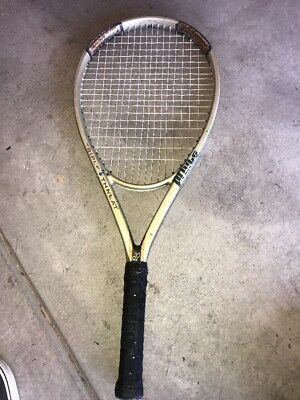 "Prince Triple Threat RIP 115 Sq In Tennis Racquet w/4-3/8"" Grip Needs Grip"