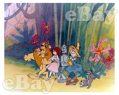 Rare! OFF TO SEE THE WIZARD OF OZ Cartoon Color Photo MGM TV Series Chuck Jones