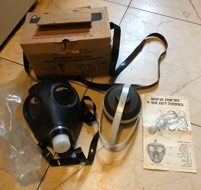 Israeli Gas Mask Military Sealed NATO Filter Full NBC Protection NEW Carry Case