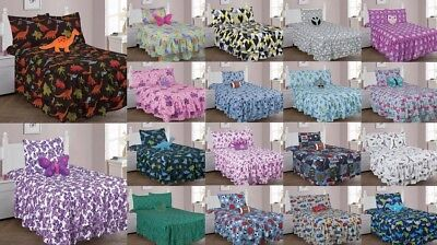 Bed In A Bag Comforter Set With Bed Sheet Kids Teens And A Toy Pillow Friend