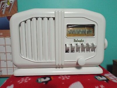 Belmont A6D110 Tube Radio, Restored and ready to play!