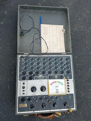 B&K Mutual Conductance Model 700 Tube Tester Vintage HTF