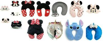 DISNEY MARIE MINNIE MICKEY MOUSE Eye Mask Holiday Travel Cushion Pillow Primark