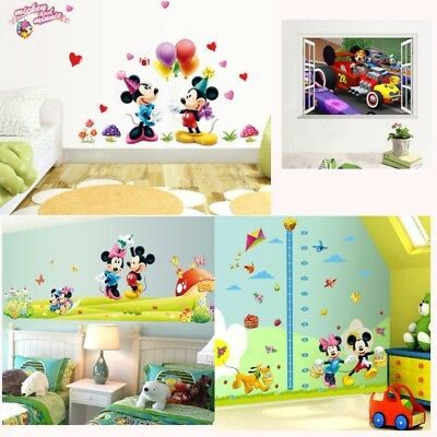 Awesome Mickey Mouse Wall Decor Stickers Model - Wall Art ...