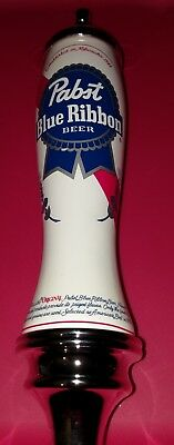 "Pabst Blue Ribbon Beer Bar Tap Handle 12"" PBR New"