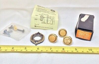 Vintage Amerock Doorbell Button Carriage House Collection C 6266 AE