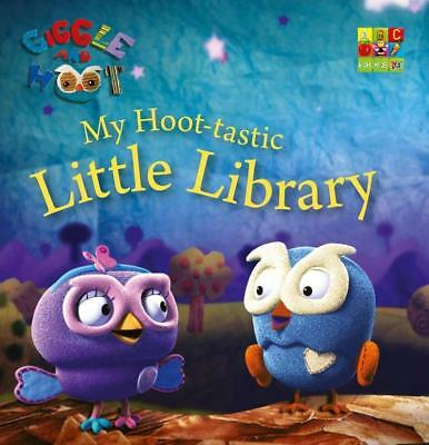 NEW My Hoot-tastic Little Library By Giggle and Hoot Hardcover Free Shipping