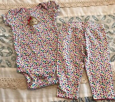 Carters Child Of Mine Girls 3-6 Month Two Piece Outfit
