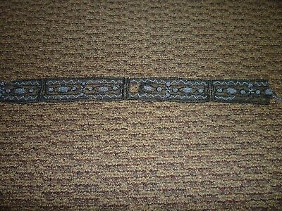 2 Antique Victorian Beaded Net Lace  plus tube beads