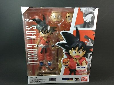 Bandai Dragonball S.H. Figuarts Kid Son Goku Action Figure & Flying Nimbus