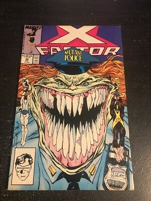X-factor#30 Awesome Condition 8.0(1988) Simonson Art!!
