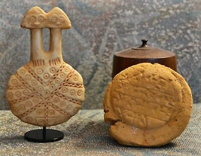 Anatolian Collection- 2000BC onwards-2 headed Idol = Cuneiform Hittite