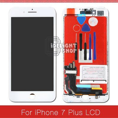 """Replacement For iPhone 7 Plus 5.5"""" LCD Touch Screen Digitizer Display White"""