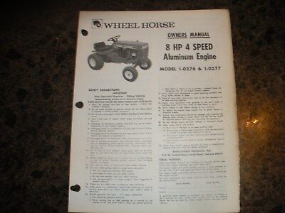 Wheel horse tractor parts manual gt 14 1 7451 dealer manual 1900 wheel horse tractor owners manual 8hp 4 spd alum eng 1 0276 1 0277 publicscrutiny Gallery