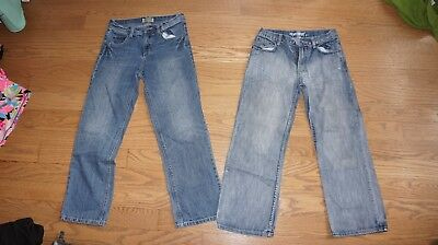 3b9e61e46 BOYS JEANS SIZE 12 pack of two flypaper and freestyle - $9.00 | PicClick