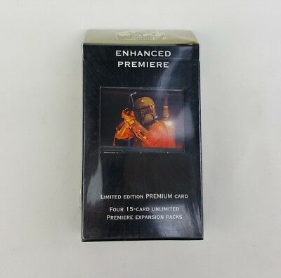 Decipher Star Wars CCG SWCCG Enhanced Premiere Boba Fett Deck 1998 Oz Seller