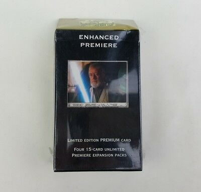 Decipher Star Wars CCG SWCCG Enhanced Premiere Obi-Wan Deck 1998 Oz Seller