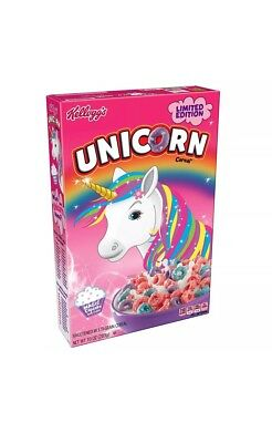 Unicorn Cereal Kellogg's Brand Limited Edition Magic Cupcake Flavor