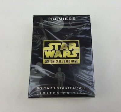 Star Wars Premiere Limited Edition CCG Starter Deck New 1995 Decipher Oz Seller