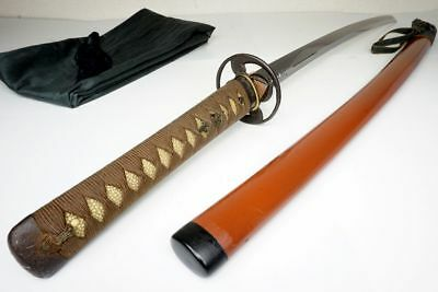Art HORIMONO Carving 85cm Antique Japanese Samurai Katana Sword Yr1660 JUMYO寿命