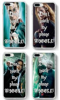 Dont Touch My Phone Harry Potter inspired phone case Muggle for iphone samsung