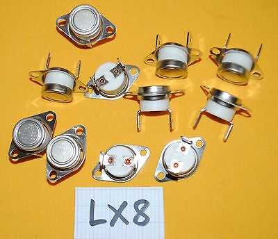 lot de 10 KLIXON NGT NGT#03E 03E  A225 52N   thermostat - LX8