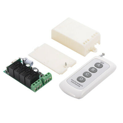 DC 12V 1000m 4 Channels Wireless Remote Control Switch Relay RF Module LD941