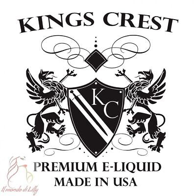 Aroma Concentrato Shot Series - Kings Crest - 20Ml + 30Ml Vg + 10Ml Pg