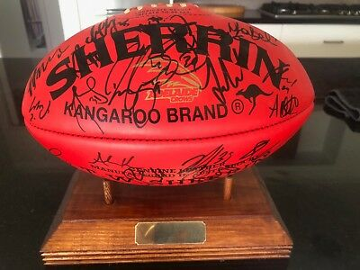 Adelaide Crows Signed Football - 2017 Minor Premiers and Grand Finalists.