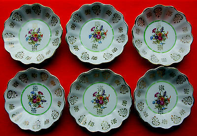 Service 6 coupelles en porcelaine