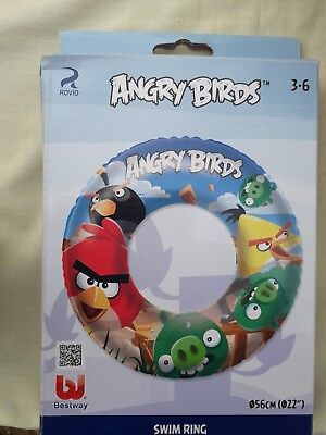 Childs Angry Birds Swim Ring 3-6 years