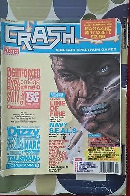 Crash Sinclair Spectrum Computer Magazine No84 March 1991