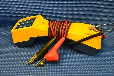 EXCELLENT CONDITION USED Fluke Networks TS19 Telephone Test Set SHIPS SAME DAY