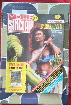 YOUR SINCLAIR Vintage Magazine - Issue 32 AUGUST 1988 (AMSTRAD/AMIGA/SPECTRUM)