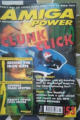 Amiga Power Magazine Sep 1985 No 53 Amstrad/amiga/spectrum/pc/st