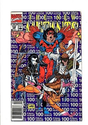 New Mutants #100 FINAL ISSUE - Marvel 1991 - VFN/NM - 1st Brief App X-Force