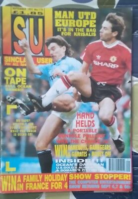SINCLAIR USER magazine SEP/1991/ISSUE/115  AMSTRAD/AMIGA/SPECTRUM/MAN UNITED