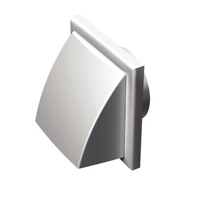 ablufthauben for Outdoor Wall Mounting WITH RETURN FLAP VENTS MV 152 VK Ø 150