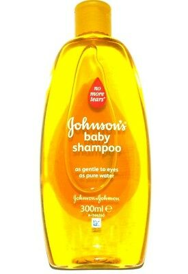 "Johnson's BABY SHAMPOO 300ml ""no more tears"" TRIPLE PROTECTION"