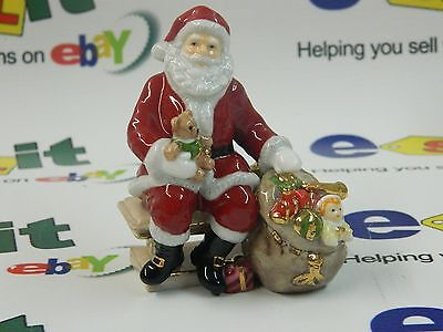 Royal Doulton Santa Holiday Traditions Miniatures HN4715 Box and COA