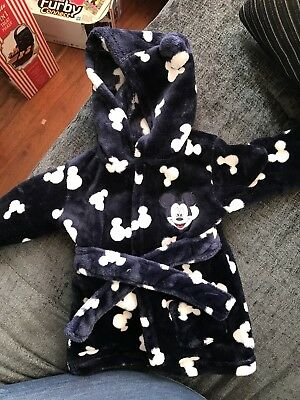 Baby Boy Dressing Gown 3-6 Months