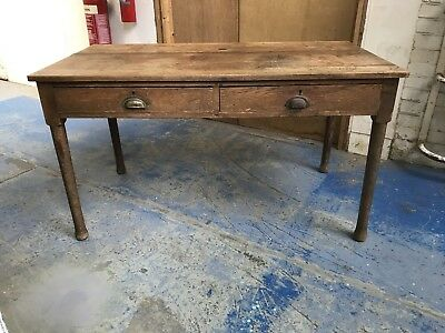 French Antique Kitchen Table