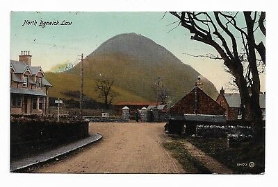 NORTH BERWICK LAW East Lothian Scotland Early 20th Century Postcard 13F